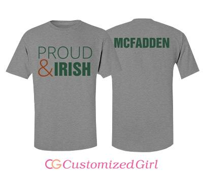 Custom Irish Pride