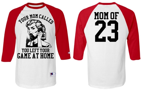 Funny Baseball Mom or Softball Mom Jersey