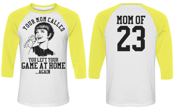 Snarky and Funny Softball Mom Jersey With Number