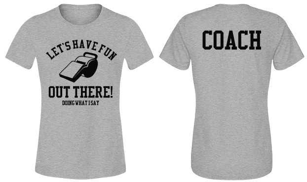 Funny Sports Coach Shirts Make Perfect Gifts!