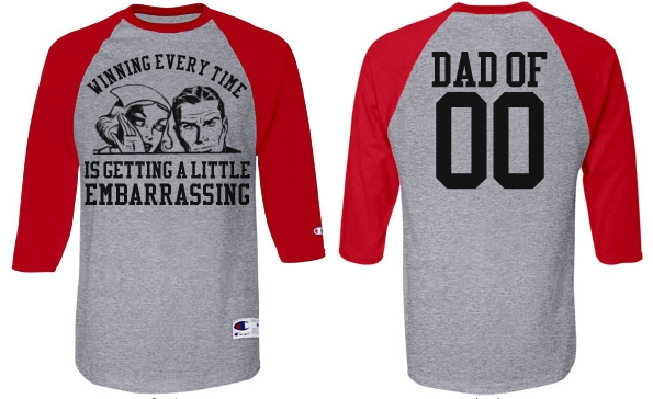 Funny Vintage Art Sports Dad Jerseys With Custom Backs