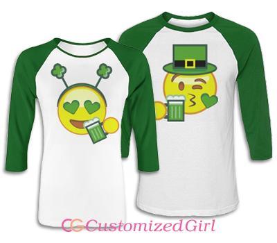 Emoji St Patricks Couple