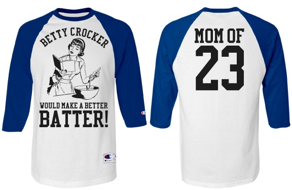 Rowdy Baseball Mom Heckler Custom Sports Mom Jersey