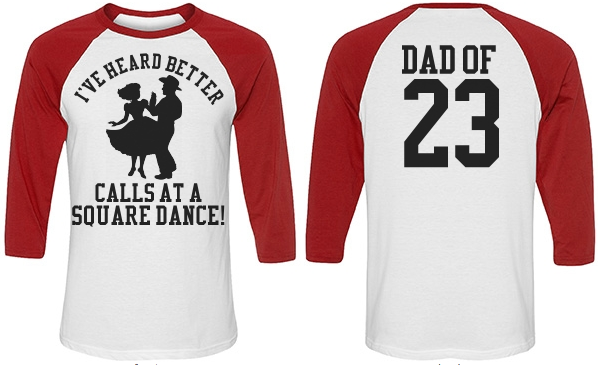 Funny Baseball Dad Umpire Heckler Custom Jersey