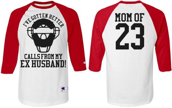 Baseball Mom Jersey Heckler