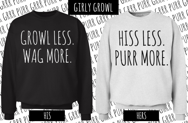 hiss less purr more girl
