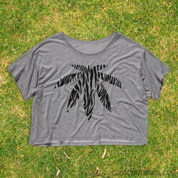 Zebra Print Weed
