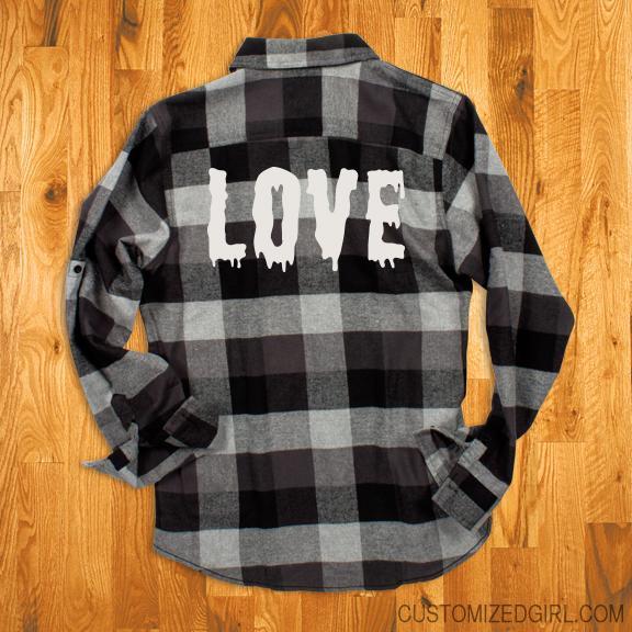 Love Flannel Grunge