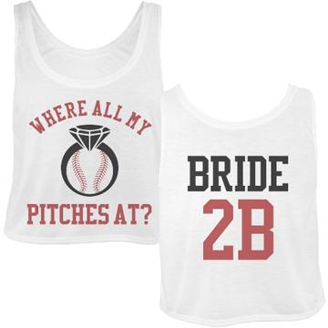 Custom Baseball Bachelorette Party Jerseys