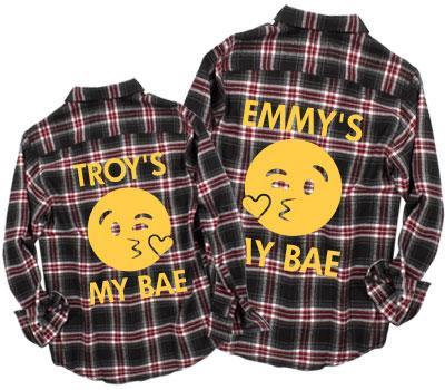 Couples Emoji Bae