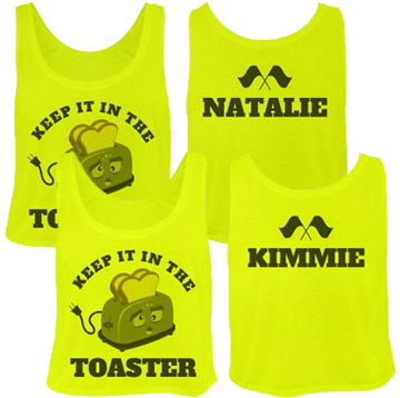 Funny Personalized Color Guard Crop Tops