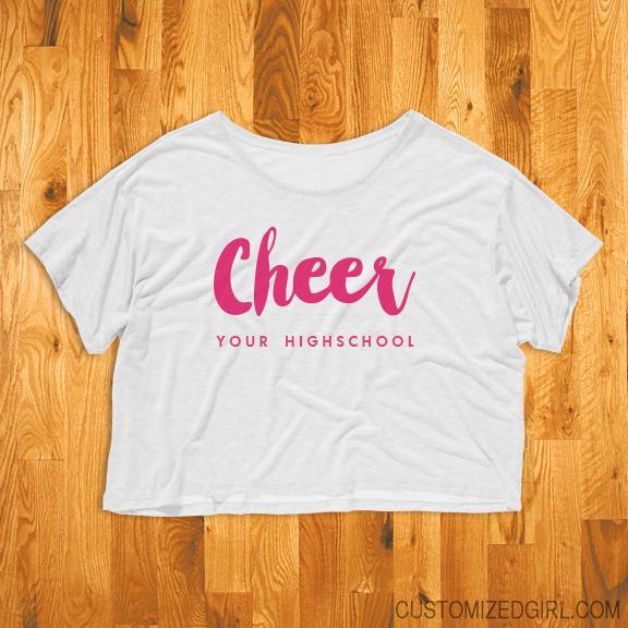 Custom Cheer Flowy Top