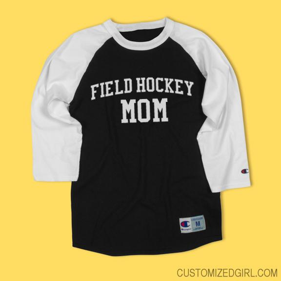 Field Hockey Mom Raglan