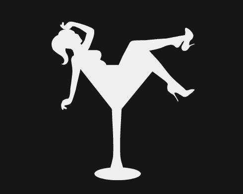 Girl in Cocktail Tank CeC