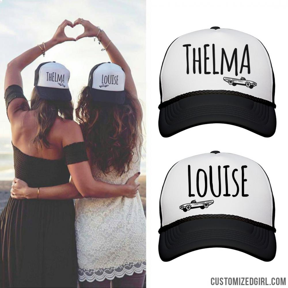 Thelma & Louise BFF Hats