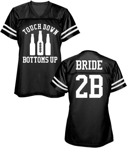 Football Bachelorette Party Mesh Jersey Shirts