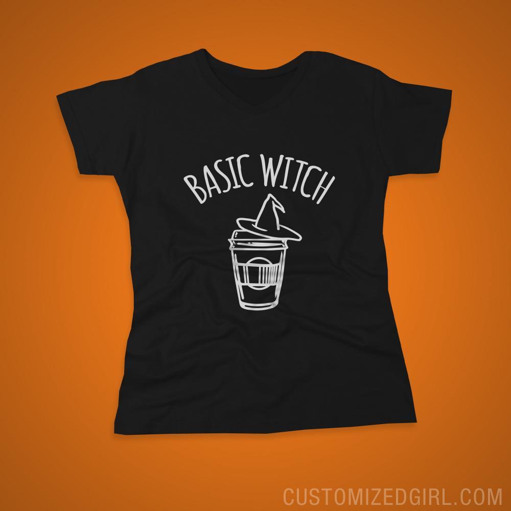 Basic Witch Coffee Shirt