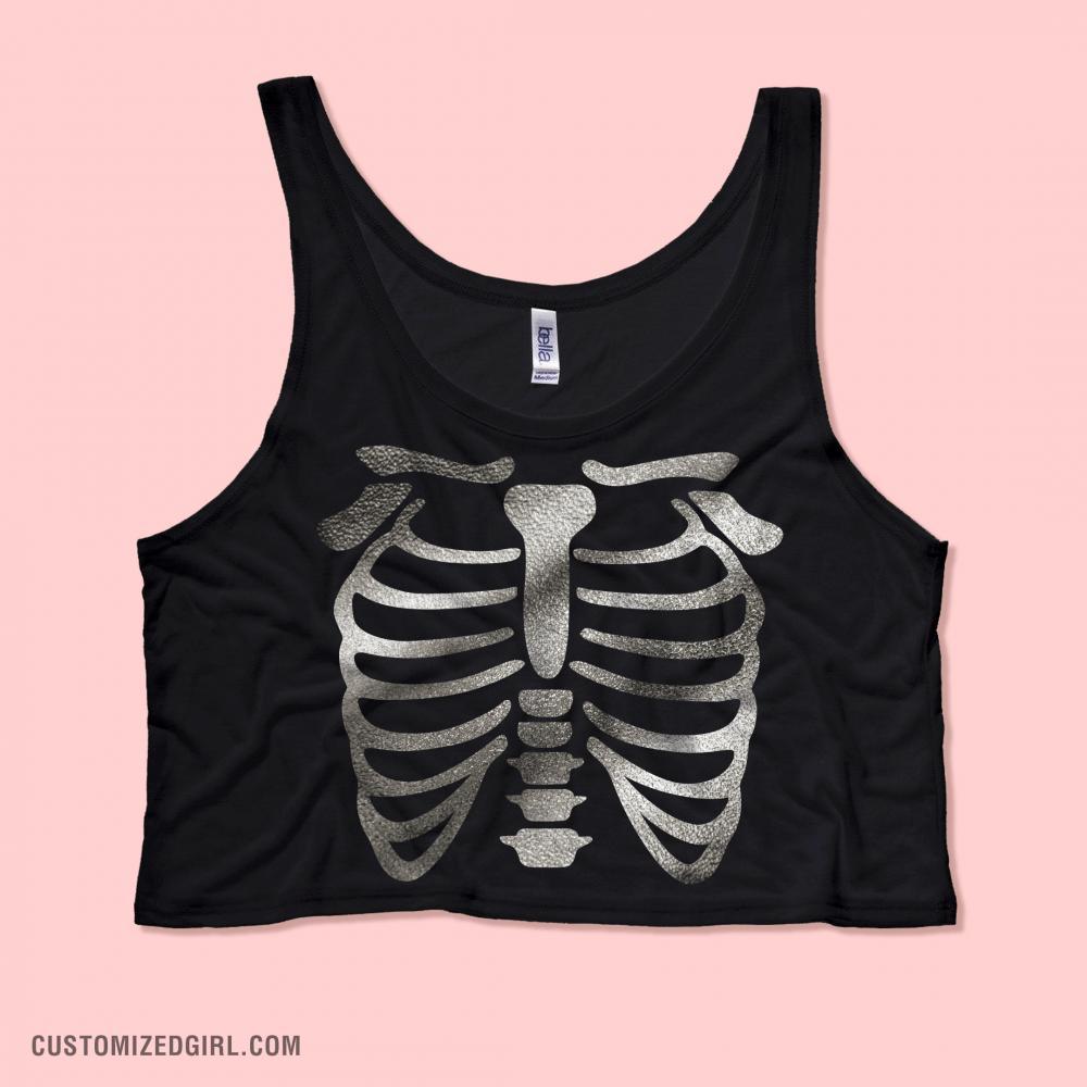 Fashion Skeleton Top