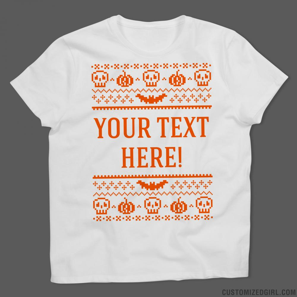 Halloween Ugly Sweater-T