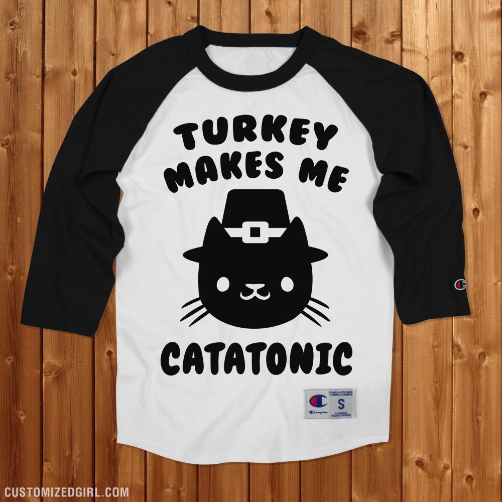 Cat Thanksgiving Shirt