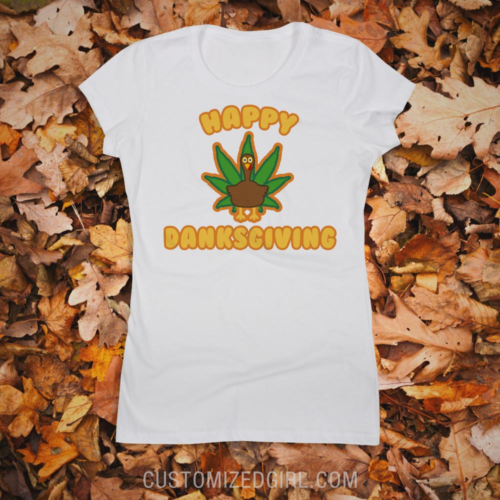 Danksgiving Weed Shirt