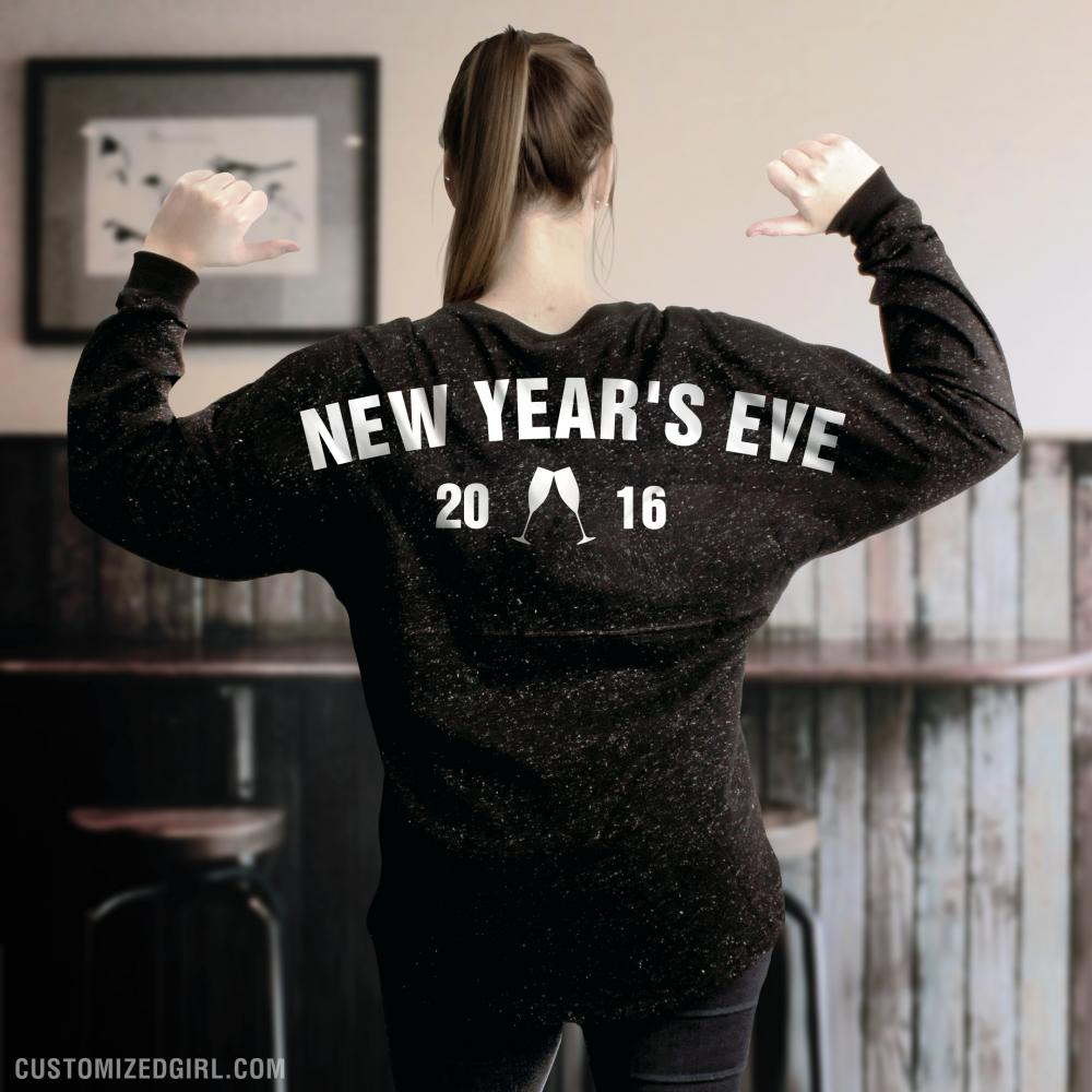 Glitter New Year's Eve Jersey