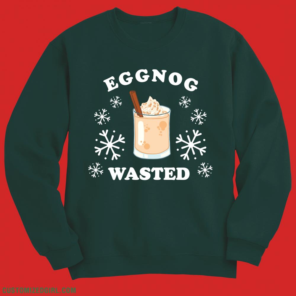 Egg Nog Wasted