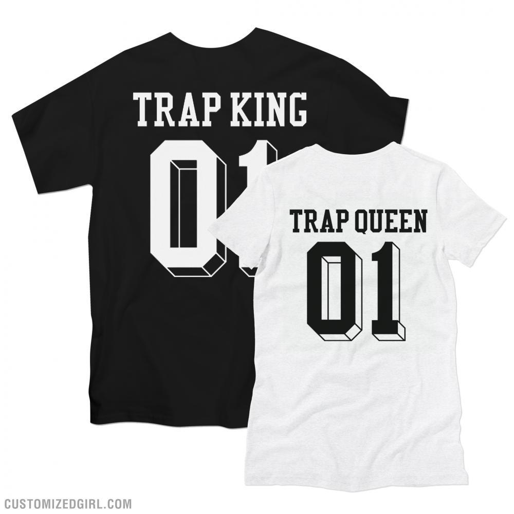 Matching Trap Queen King Girl
