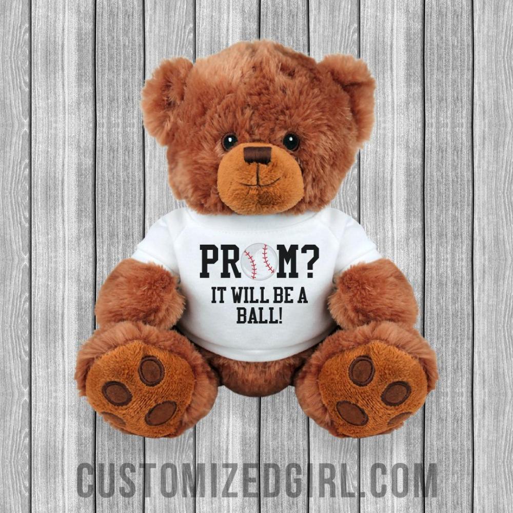 Baseball Softball Prom Proposal