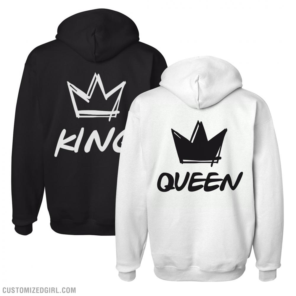 Graffiti King & Queen Hoodies 1