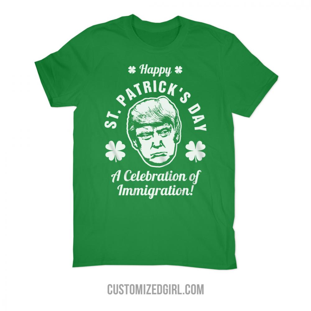 Happy St Patricks Day Trump Policy