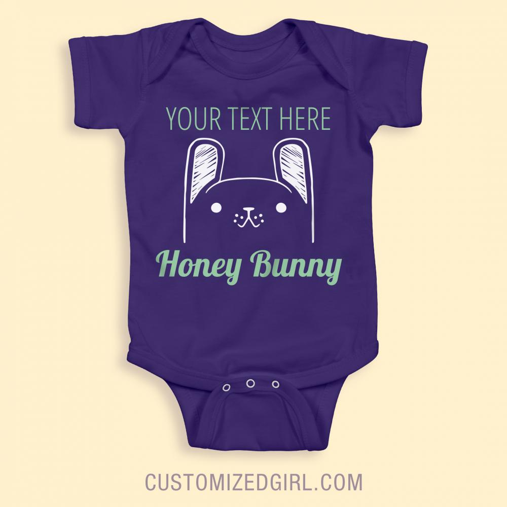 Custom Name Honey Bunny
