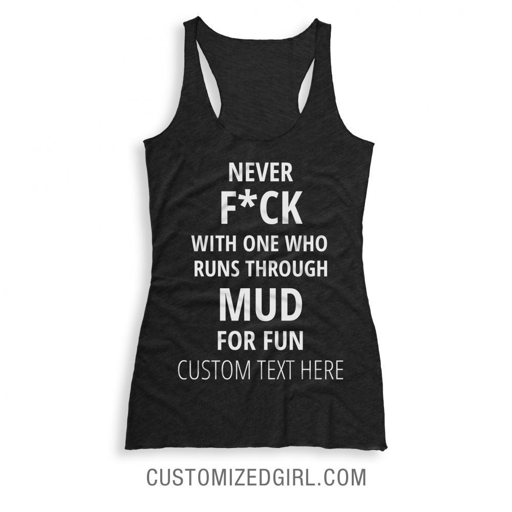 Custom Runs Through Mud For Fun