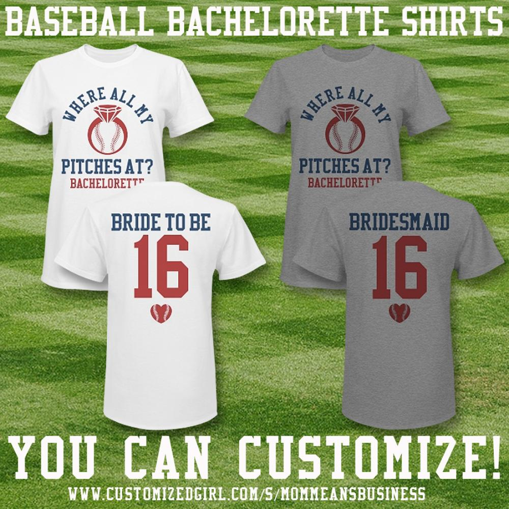 Baseball Bachelorette Shirts Girls 1