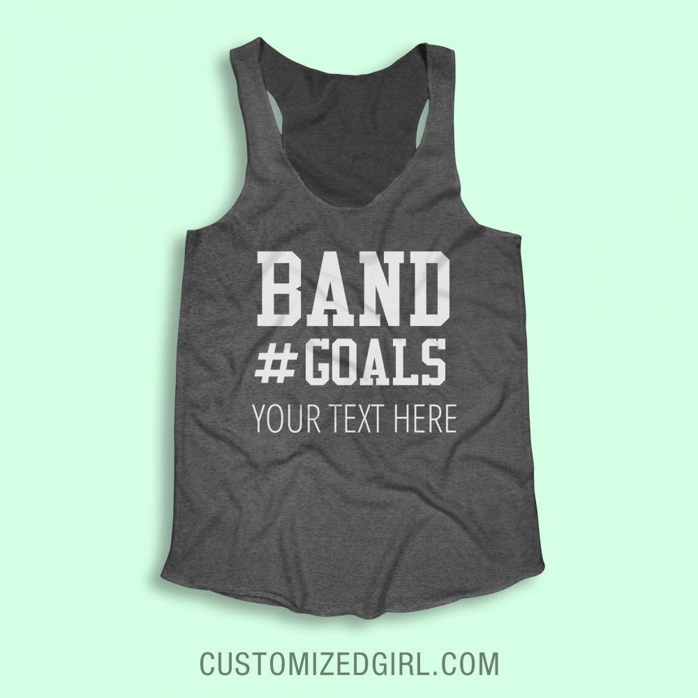 Custom Marching Band Goals