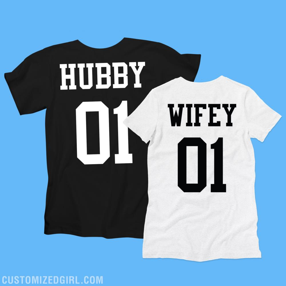 Hubby Wifey Wedding Gift Couple
