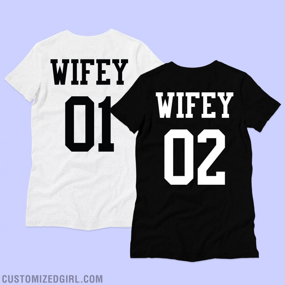 Wifey 1/2 LGBT Matching Couple