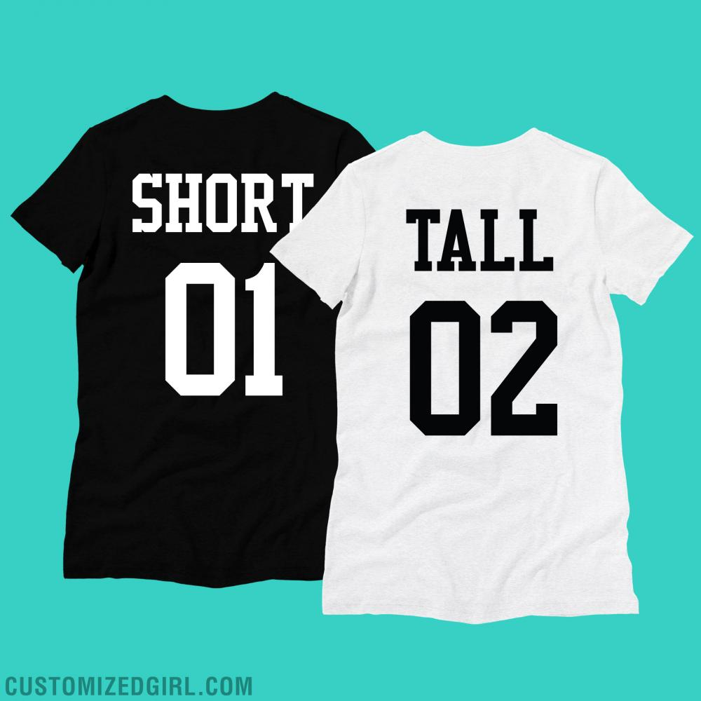 Tall & Short Best Friend Shirts