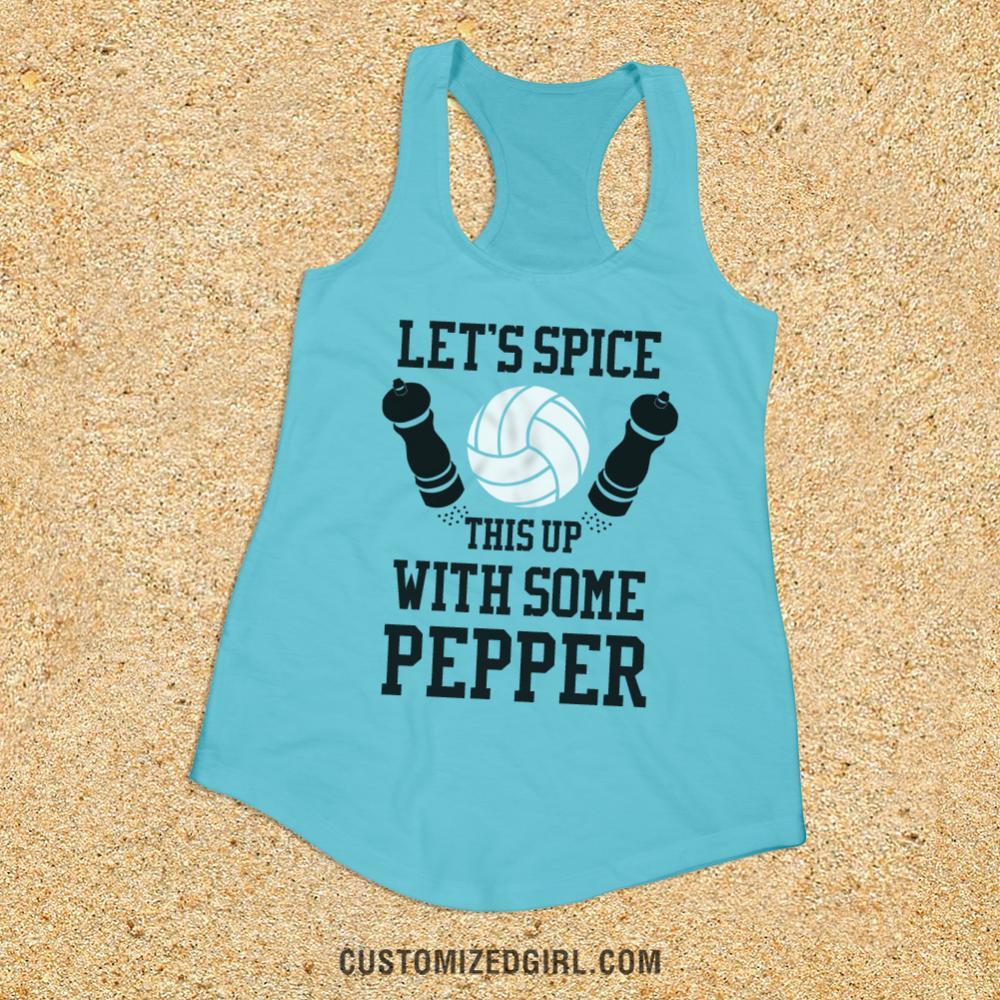 Volleyball Pepper Tank