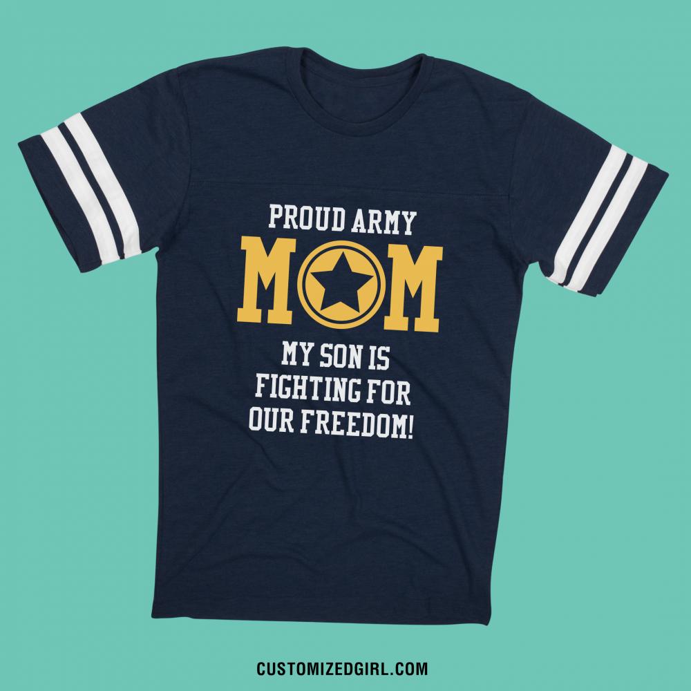 Proud Custom Military Mom