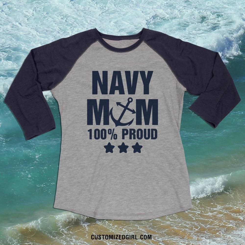 Navy Mom Proud Forever