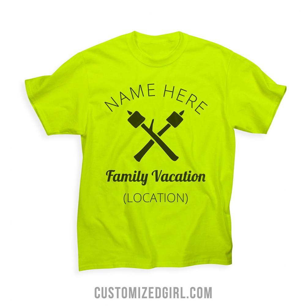 Custom Camping Family Vacation