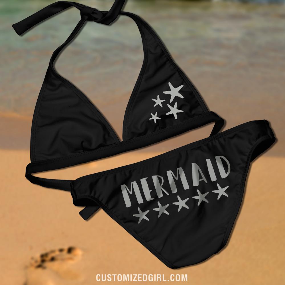 Mermaid Starfish Bikini Top