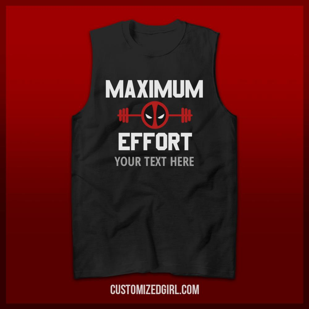 Custom Maximum Effort Gym