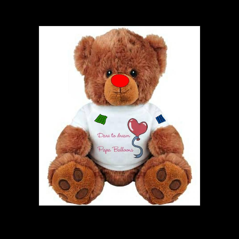 Papa Balloons Cuddly Bear