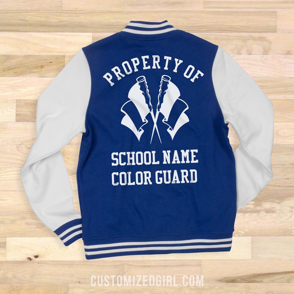 Custom School Property Of The Color Guard