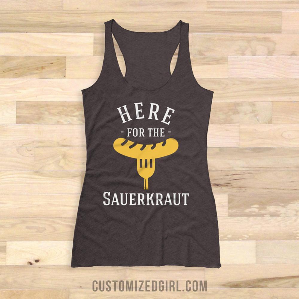 Funny Oktoberfest Sauerkraut