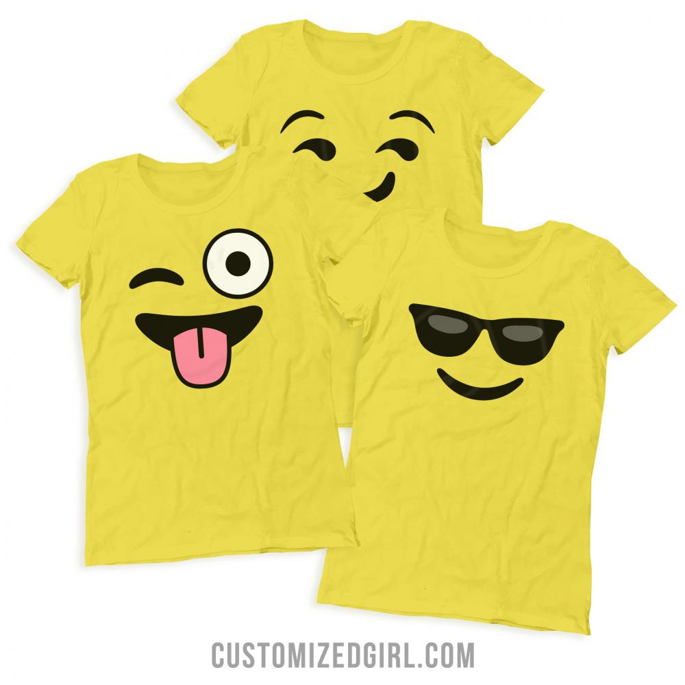 Winking Smiley Emoji Costume