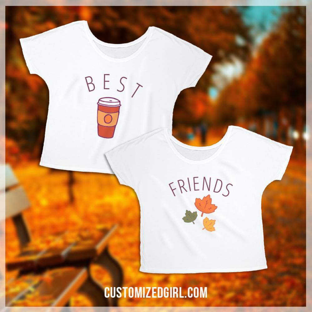 Autumn And Pumpkin Spice Besties