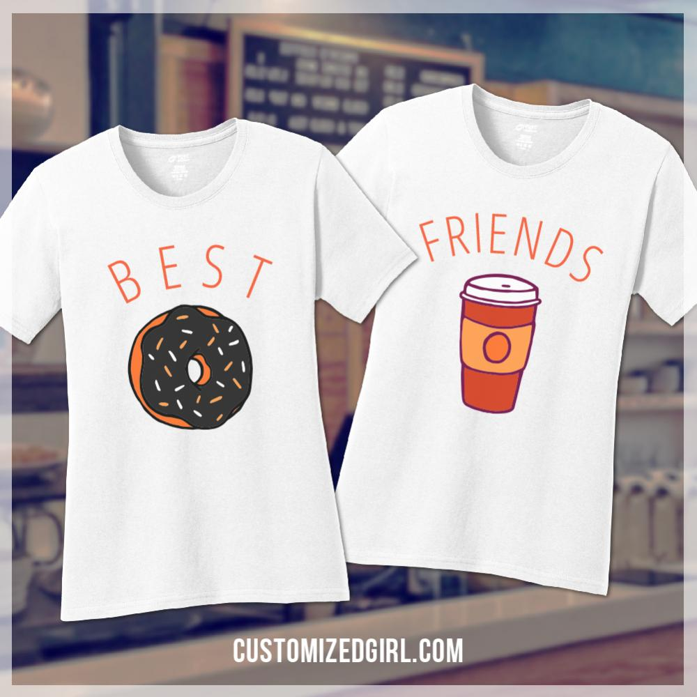 Pumpkin Spice Donut Best Friends